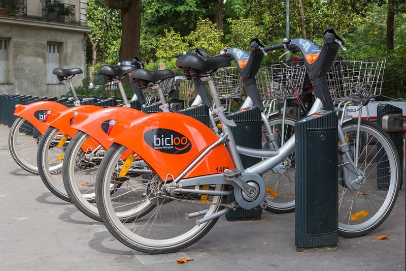 Nantes Metropole bicloo bicycle station bikes 210716 ©RLLord 5446 smg