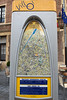 Villo bicycle hire scheme map and tariffs Brussels Belgium 160811 ©RLLord 9779 v smg