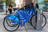 Citi Bike rental station in Manhattan, New York