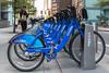 Citi Bike rental station in Manhattan, New York