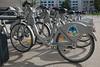 Velodi bicycle sharing scheme in Dijon, France