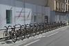 Bike sharing scheme in Paris, France