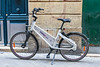 Indigo weel dock-less bicycle available for hire in Bordeaux, France