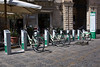 Gobike bicycle hire scheme in Siracusa, Sicily, Italy