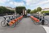 Nantes Metropole Bicloo bike rental station