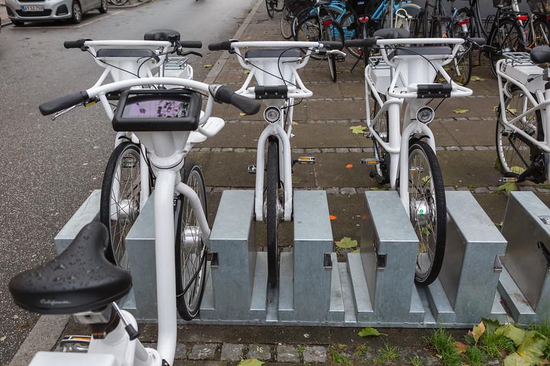 electric GoBike for hire in Copenhagen, Denmark
