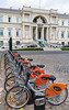 Nantes Metropole Bicloo bicycles for hire in Place Aristide Briand