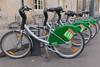 VélOstan'Lib bicycle rental station, Nancy, France
