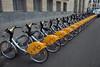 Villo bicycle hire scheme in Brussels, Belgium