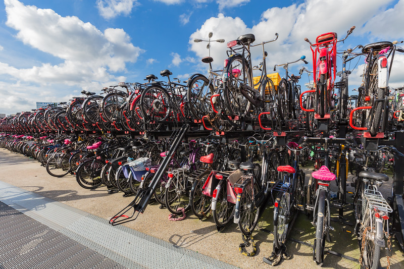 Amsterdam Central Station bicycle park