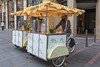 Citrus Bike cargo trike street food vendor in Toulouse, France