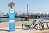 Hudson Bike Share powered by Nextbike in Hoboken, New Jersey, USA