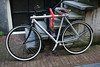 Vanmoof bicycle in Amsterdam, The Netherlands