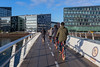 Bryggebroen cycling and pedestrian bridge Copenhagen 261115 ©RLLord 7340 smg