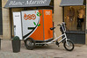 TNT cargo tricycle in Dijon, France