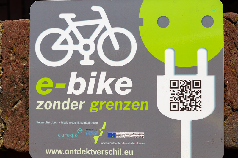 Many Dutch hotels and restaurants offer electric bike charging