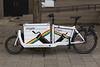 Bullitt cargo bike in Amsterdam, Netherlands