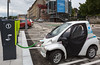Toyata Coms used by Grenoble's electric car sharing service