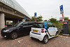 Mitsubishi Outlander PHEV electric Smart Car2Go Sloterdijk Netherlands 110815 ©RLLord 1776 smg