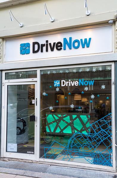 DriveNow office on Trommesalen in Copenhagen, Denmark