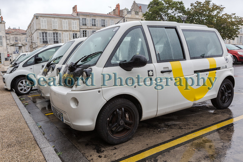 Mia electric vehicle in La Rochelle, France