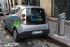 Bluecub bluecar electric car sharing Bordeaux France 290715 ©RLLord 8843 smg
