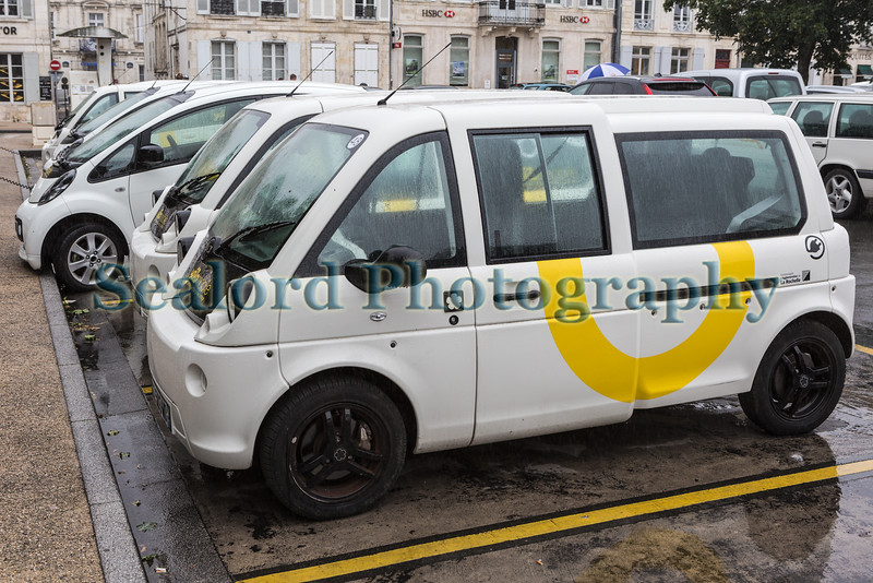 Mia electric vehicle in La Rochelle, France