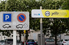 Yelomobile electric car parking sign La Rochelle 280715 ©RLLord  smg