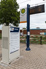 electric bus stop and inductive charging station, Mannheim, Germany