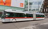 Cristalis articulated electric bus in Lyon, France