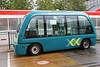 ParkShuttle driverless vehicle operating in Rotterdam, Netherlands