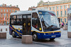 Electric BredaMenarinibus operating in Toulouse City Centre, France