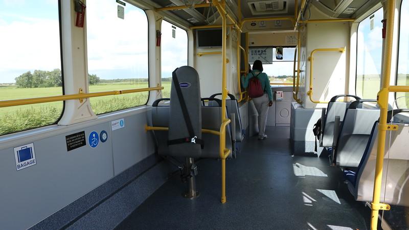 BYD electric passenger bus on Schiermonnikoog, Netherlands