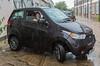 Mahindra e2o electric car Chiswick London  120716 ©RLLord 4745 smg_
