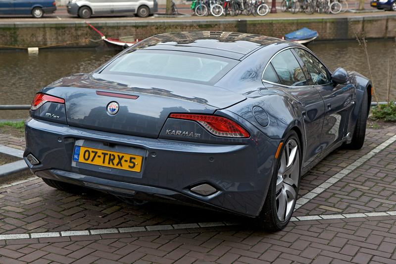 Fisker Karma ES electric car Amsterdam 070114 ©RLLord 7973 smg