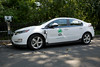 """A Chevrolet Volt with an electric motor and a petrol engine charges in Central Park, New York City on 28 August 2012<br /> <br /> File No. 280812 2655<br /> ©RLLord<br /> sustainableguernsey@gmail.com<br /> <br /> <a href=""""http://www.sustainableguernsey.info/blog/"""">http://www.sustainableguernsey.info/blog/</a><br /> <br /> ."""