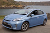Toyota plug-in hybrid Saints Bay St Martin Guernsey 220413 ©RLLord 7628 smg