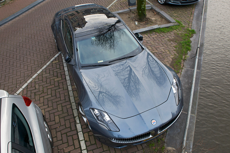 Fisker Karma ES electric car Amsterdam 070114 ©RLLord 7996 smg
