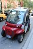 Gem electric car in Manhattan, New York