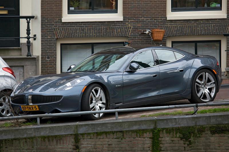 Fisker Karma ES electric car Amsterdam 070¡14 ©RLord 8026 smg