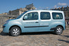 Electric Renault Kangoo Maxi vehicle used by the Palace of Versailles