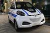 ZD electric car used by IVRI in Via Della Spiga, Milan