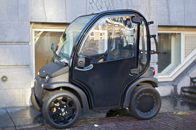 Electric Battery Car Sealord