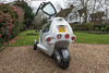 SAM three wheeled electric motorcycle