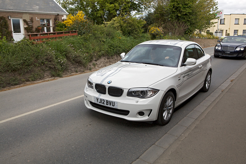 BMW Active E electric car on Guernsey road 240513 ©RLLord 9982 smg