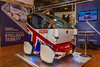 Lutz Pathfinder Pod prototype on display at the ITS European Congress