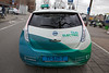 Nissan Leaf electric taxi Amsterdam Centraal 070114 ©RLLord 8099 smg