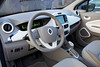Renault Zoe interior electric car 010114 ©RLLord 7287 smg