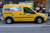 DHL electric delivery van in Manhattan