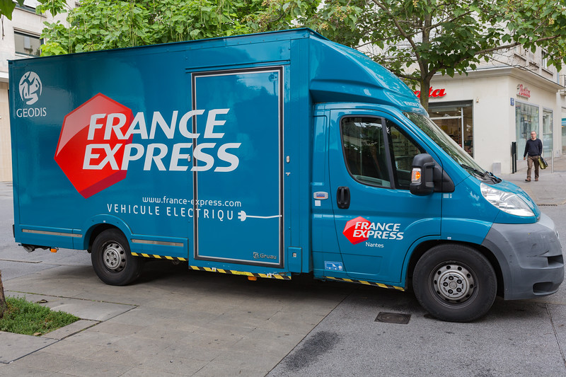 Fiat France Express Gruau electric truck Nantes France 280715 ©RLLord 8580 smg